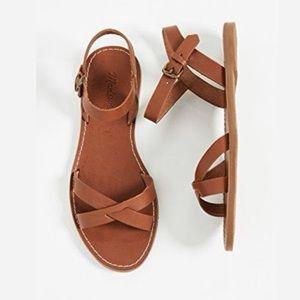 🆕 Madewell Boardwalk Crisscross Sandals